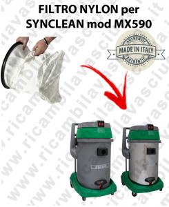 SACCO FILTRO NYLON cod: 3001220 PER aspirapolvere MAXICLEAN modello MX590 BY SYNCLEAN