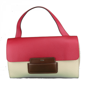 Shoulder bag Furla MAIA 869624 ACERO+RUBY+GLACE b