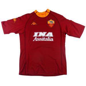 2000-01 Roma Maglia Home #21 Balbo L (Top)