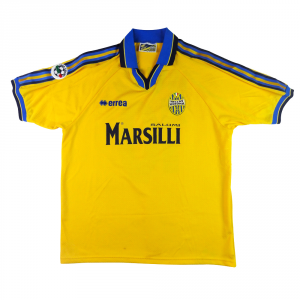 1999-00 Hellas Verona Maglia Away Match Worn#10 Adailton  XL  (Top)