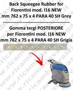 I16 NEW GOMMA TERGI posteriore GRIGIO per lavapavimenti  FIORENTINI