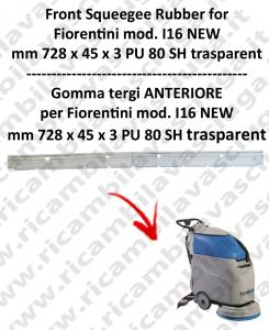 I16 NEW GOMMA TERGI anteriore per lavapavimenti  FIORENTINI