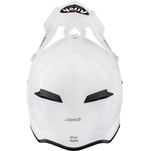 CASCO MOTO CROSS AIROH TERMINATOR 2.1 S COLOR WHITE GLOSS T2S14