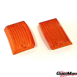 Plastiche frecce anteriori arancio per Vespa PK 50/125 S