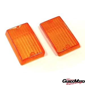 Plastiche frecce posteriori arancio per Vespa PK 50/125 S