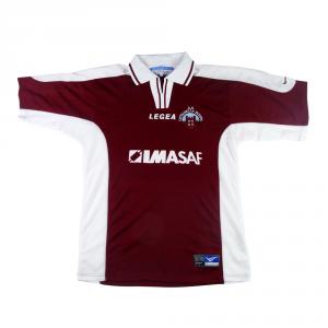 2001-02 Cittadella Padova Maglia Home Match Worn #8 Pizzi L (Top)