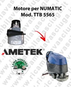 TTB 5565 MOTORE aspirazione AMETEK lavapavimenti NUMATIC