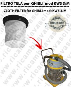 FILTRO TELA PER aspirapolvere GHIBLI modello KWS 3/M