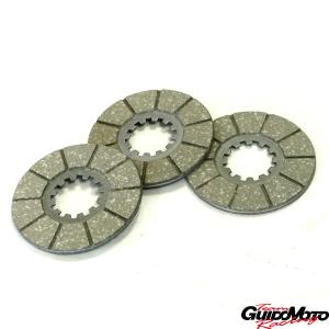 Kit dischi frizione guarniti per Innocenti Lambretta A-B-C-LC-D-LD LAM125