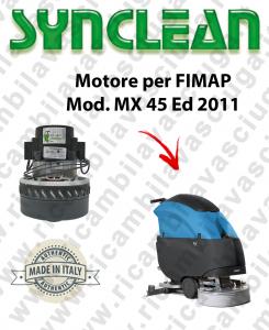 MX 45 Ed. 2011 MOTORE aspirazione SYNCLEAN lavapavimenti FIMAP