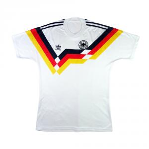 1988-90 Germania Ovest  Maglia Home #4 Kohler L (Top)