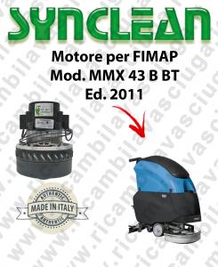 MMX 43 B-BT Ed. 2011 MOTORE aspirazione SYNCLEAN lavapavimenti FIMAP