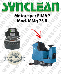 MMG 75 B MOTORE aspirazione SYNCLEAN lavapavimenti FIMAP