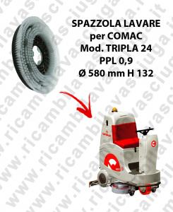 SPAZZOLA LAVARE PPL 0.9 per lavapavimenti COMAC mod. TRIPLA 24