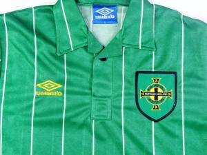 1992-94 IRLANDA DEL NORD MAGLIA HOME L (TOP)