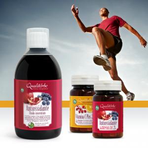 KIT Trattamento antiossidante e vitamina C per sostegno nella fase di preparazione all'attività fisica
