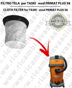 FILTRO TELA PER aspirapolvere TASKI modello PRIMAT PLUS 58