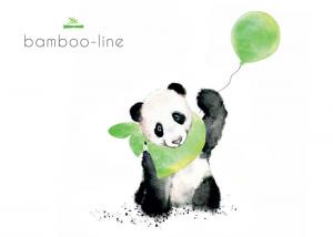PIOGGERELLA - Bamboo-line -Telo bagno con cappuccio-100% spugna di bamboo