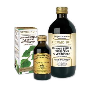 DR. GIORGINI GEMMO 10+ GEMMODERIVATO CONCENTRATO DI BETULLA BIANCA - DEPURATIVO DEL SANGUE
