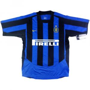 2003-04 Inter Maglia Home Ragazzo *Cartellino e Confezione