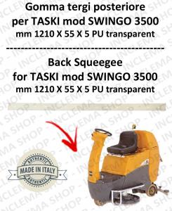 Gomma tergi posteriore per lavapavimenti TASKI modello SWINGO 3500