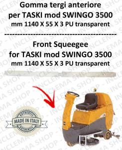 Gomma tergi anteriore per lavapavimenti TASKI modello SWINGO 3500
