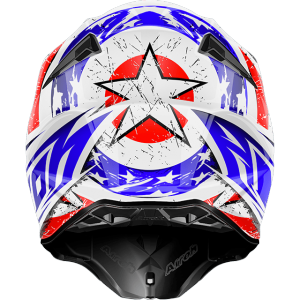CASCO MOTO CROSS AIROH TWIST LEADER GLOSS TWLE18