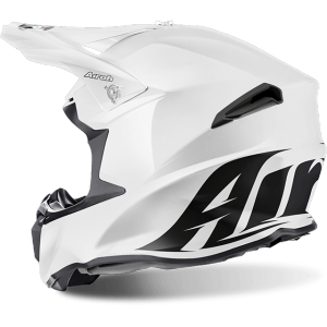 CASCO MOTO CROSS AIROH TWIST COLOR WHITE GLOSS TW14