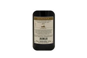 Vino rosso sardo Luzzana IGT Isola dei Nuraghi 2016