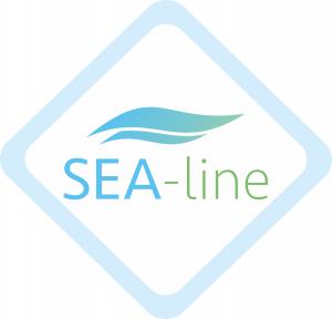 SEA-line - Telo multiuso in mussola di bamboo e alghe marine - HIT!