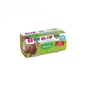 HIPP BIOLOGICO MANZO - OMOGENIZZATO DAL 4 MESE COMPIUTO