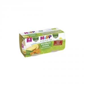 HIPP BIOLOGICO VERDURE MISTE - OMOGENIZZATO DAL 4 MESE COMPIUTO