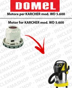 WD 5.800 MOTORE ASPIRAZIONE DOMEL per aspirapolvere KARCHER-2