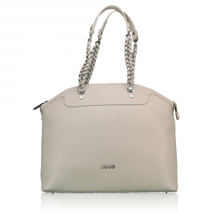 Shoulder bag Liu Jo ANNA CHAIN A67002 E0087 TORTORA CHIARO