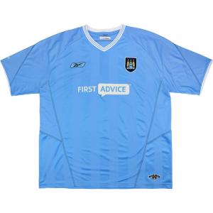 2003-04 Manchester City Maglia Home L
