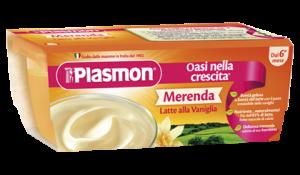 PLASMON MERENDA SAPORI DI NATURA LATTE ALLA VANIGLIA - DAI SEI MESI