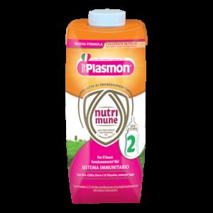 PLASMON LATTE NUTRI - MUNE 2 LIQUIDO - ALLATTAMENTO DAI 6 MESI IN SU