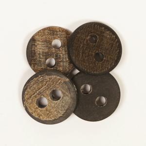 Legno Corno di Bufalo - bottone
