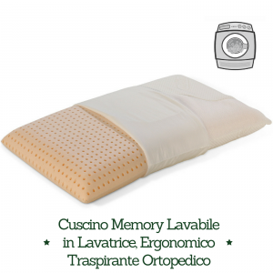 Come Lavare I Cuscini In Memory.Cuscino Memory Washable