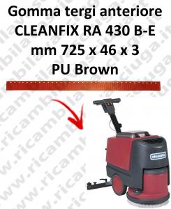 RA 430 B-E GOMMA TERGI ANTERIORE per lavapavimenti  CLEANFIX