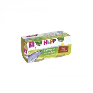 HIPP BIOLOGICO SALMONE CON VERDURE - OMOGENIZZATO DAL 4 MESE COMPIUTO