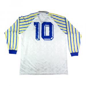 1990-91 Parma Maglia Home Match Worn #10 Cuoghi
