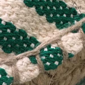Trussardi Jeans - Espadrillas righe bianco verde
