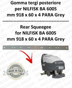 BA 600S - GOMMA TERGI posteriore per lavapavimenti NILFISK