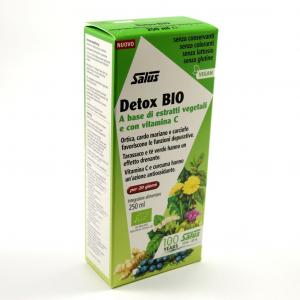 DETOX BIO a base di estratti vegetali e con vitamina C 250 ml