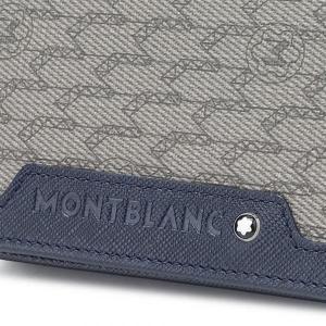 Porta Biglietti Montblanc Signature Stone Blue