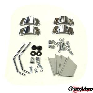 Supporti montaggio parabrezza piccolo per Innocenti Lambretta CZ44/1