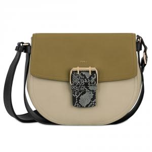 Shoulder bag Furla HASHTAG 903382 CRETA c+KAKI c+ARGILLA c