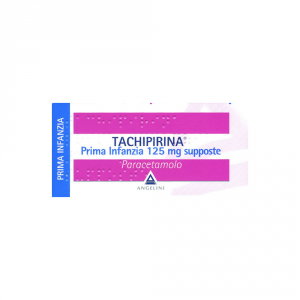 TACHIPIRINA 125MG SUPPOSTE PRIMA INFANZIA