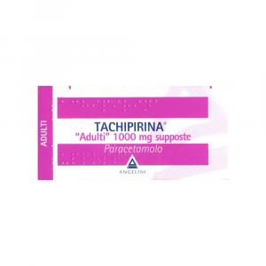 TACHIPIRINA 1000 MG SUPPOSTE BAMBINI OLTRE I 40 KG